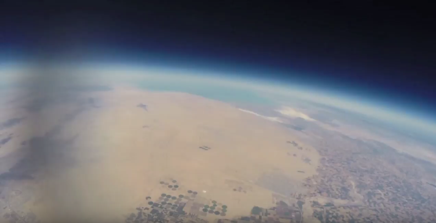 Balloon Beginnings – The First Weather Balloon Launches in 2014